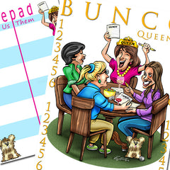 Bunco Scorecards - Bunco Queen