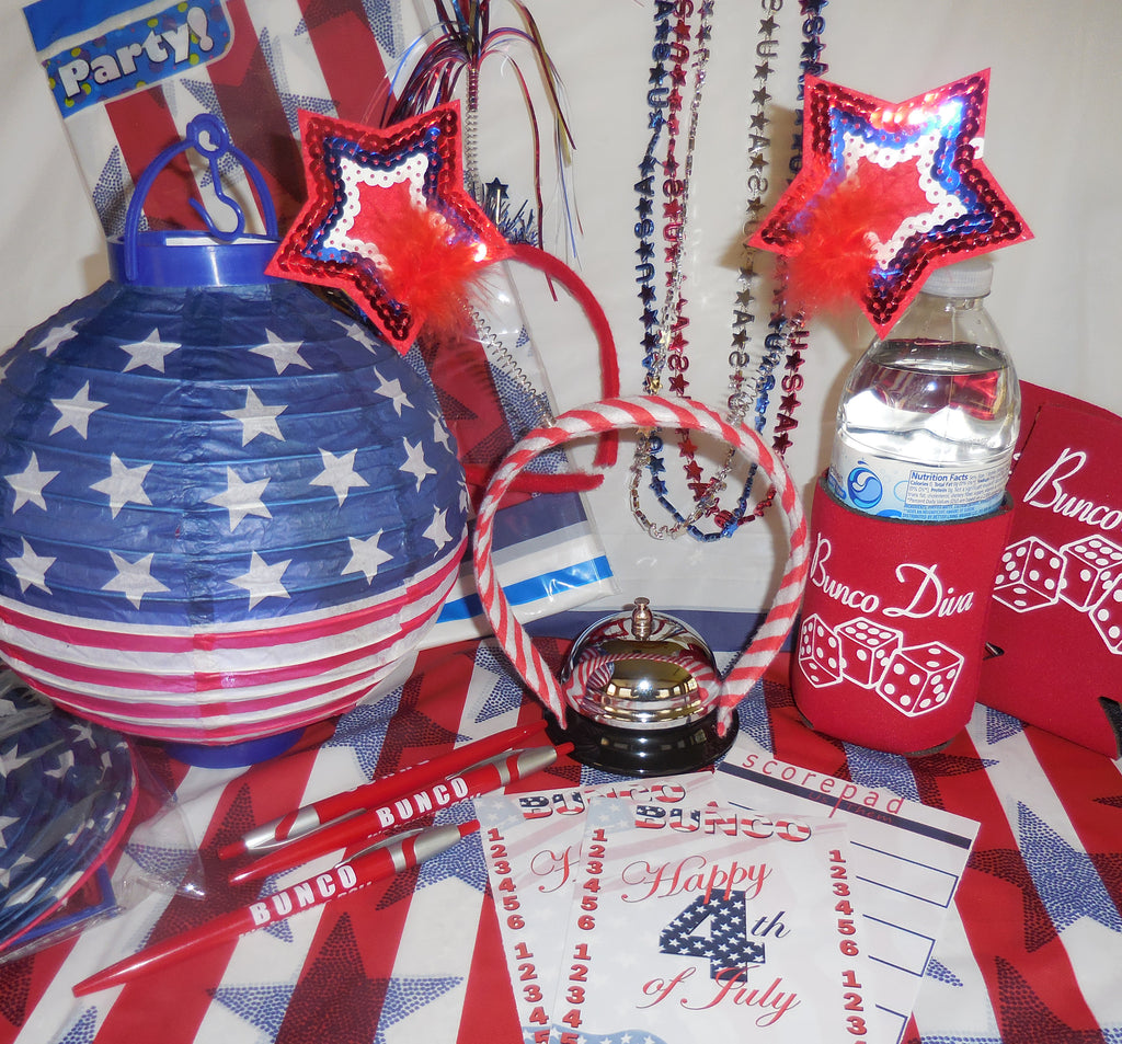 4th of July Box Bunco Party Box | 4 Sisters Bunco