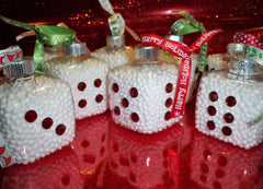 Bunco Dice Ornament (3)