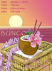 Bunco Scorecards - Luau Bunco
