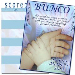 Bunco Scorecards - Mother's Day