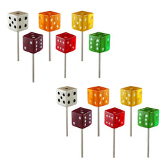 Bunco Suckers - Dice Assortment - 6 Pack