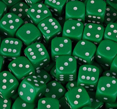 Bunco Dice - Red or Green