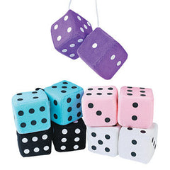 Bunco Fuzzy Dice