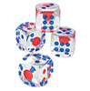 DICE - Red/White/Blue