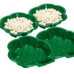 Bunco Shamrock Dishes