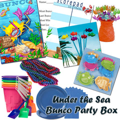 Bunco Party Box - Under the Sea