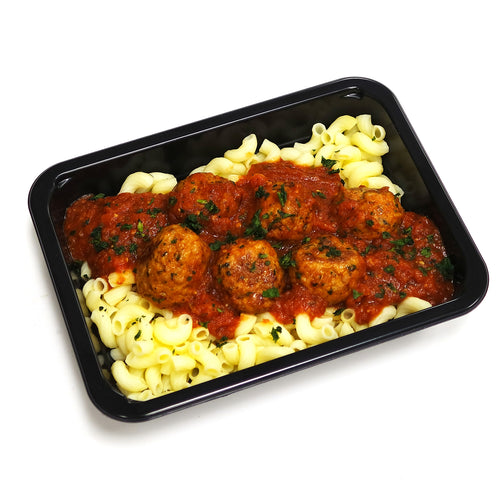 Turkey Meatballs & Pasta