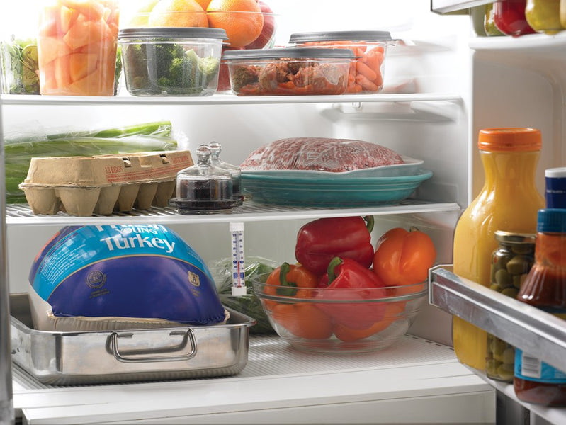 Five temperatures for optimal food storage