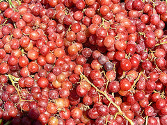 GRAPES Organic Crimson Seedless 500g