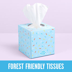 Facial Tissue 'Who Gives a Crap' 3ply 70 sheets Single box