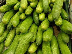 CUCUMBER Local Hydroponic Lebanese 500g