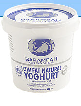 Load image into Gallery viewer, Barambah Organics Yoghurt Low Fat NATURAL 500g