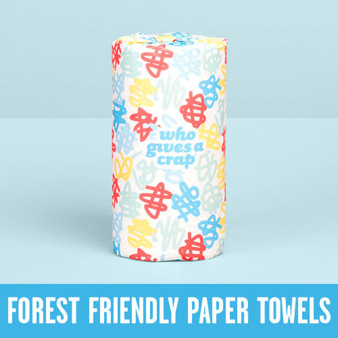 Paper Towel 'Who Gives a Crap' 2ply, 120 sheet roll