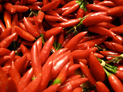 CHILLIES Organic Red 250g
