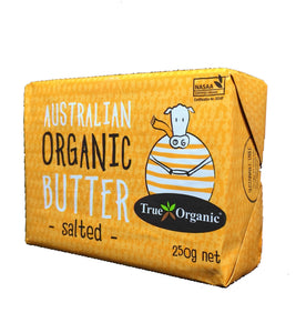 BUTTER Salted True Organic Australia 250g