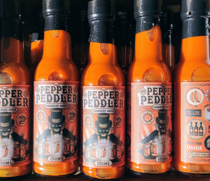Pepper Peddler Fermented Habanero Sauce Hot 150ml