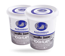 Load image into Gallery viewer, Barambah Organics Yoghurt VANILLA BEAN & CINNAMON 500g
