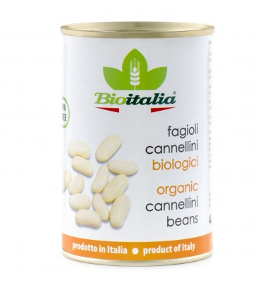 TINNED Organic Imported Cannellini Beans 400g