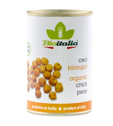 TINNED Organic Imported Chick Peas 400g