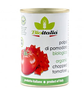 TINNED Organic Imported Diced Tomatoes Bulk 12x400g *pre-order*