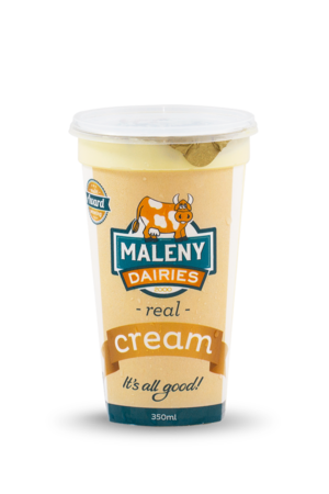 Maleny Dairies REAL CREAM 350ml