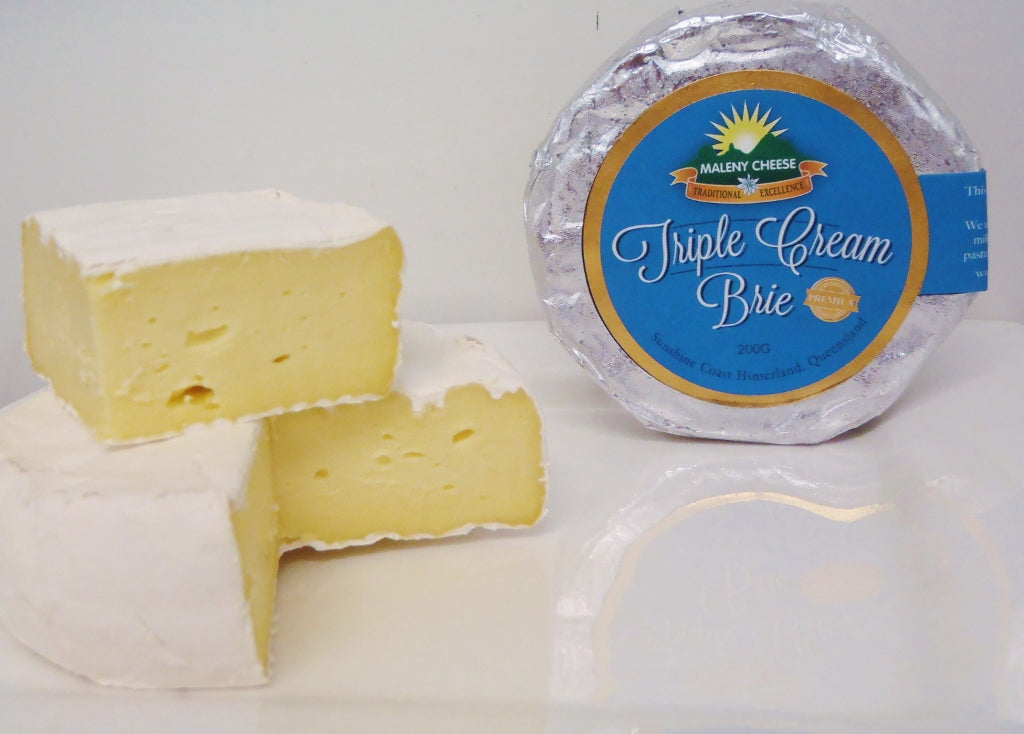 Maleny Cheese Triple Cream BRIE 200g