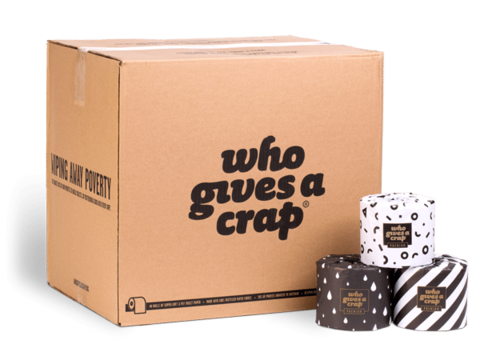 Bamboo Toilet Paper ' Who Gives A Crap' box of 48