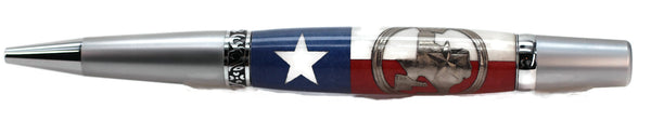 Texas Coin over Texas Flag - 1001