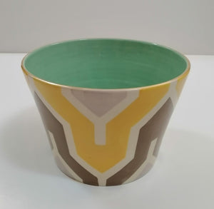 Flame Bowls and Trays (Yellow/Brown)