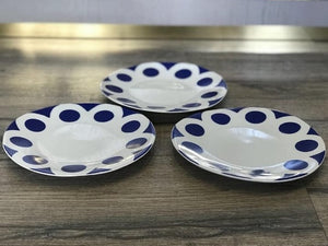Dots Blue Side Plate