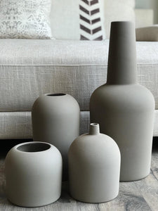 Terracotta Vases - Set