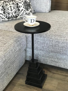 Sculptural Side Table