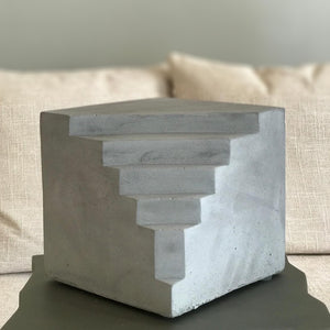 Modern Concrete Sculpture