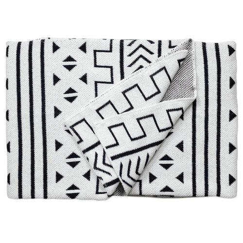 PP - Mali  Throw Blanket - Blanc
