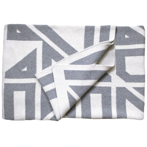 PP-Milas Throw Blanket - Blanc