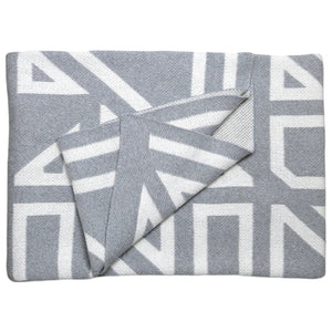 PP-Milas Throw Blanket - smoke