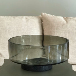 Glass & Marble Bowl
