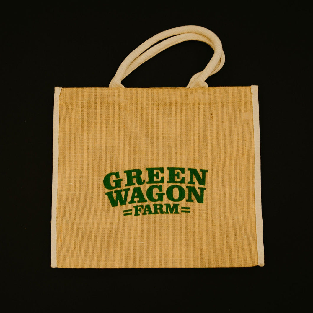 Green Wagon Tote Bag