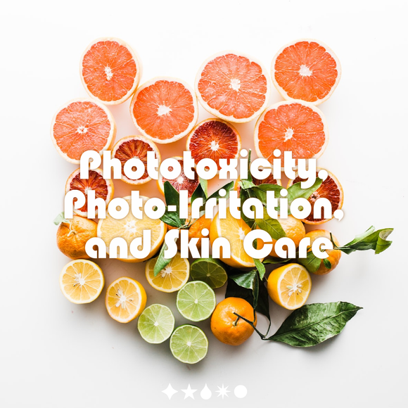 Phototoxicity, Photo-Irritation, and Essential Oils