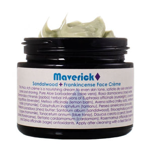 Sandalwood + Frankincense Maverick Face Cream - 15ml
