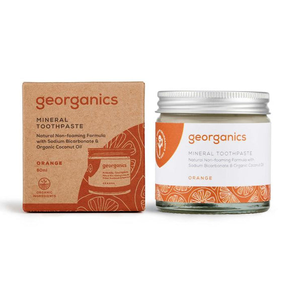 Mineral Toothpaste - Orange - 60ml (Georganics)