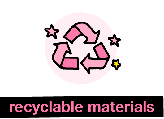 recyclable materials