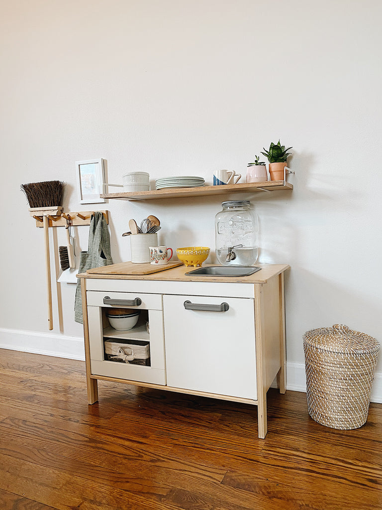 Functional Toddler Kitchen