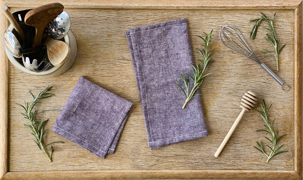 Plum - Kids Napkins - Set of 4