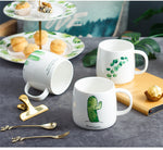 "Hilarious ""Dressed Up Pickle"" Cactus Mug"
