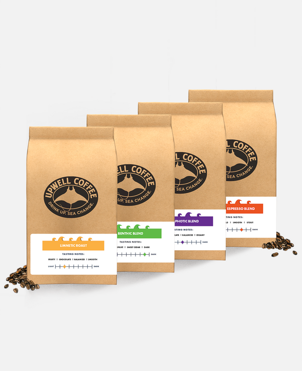 COFFEE CURRENTS BUNDLE<br>Be a Friend to The Environment - Buy 4 and Get $5 Off Shipping