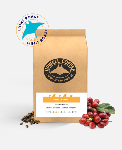 LIMNETIC LIGHT ROAST™<br>Plenty of caffeine on the surface for a fruity morning kick