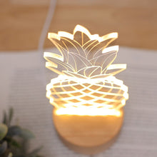 Bedside Table Pineapple Lamp - tasall