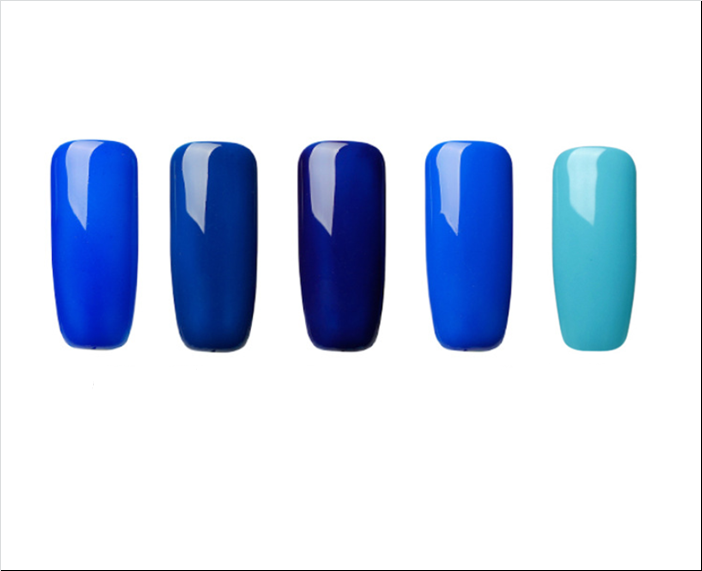 Rosalind Blue Collection Nail Polish - tasall